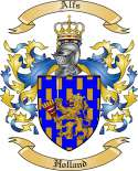 Alfs Family Coat of Arms from Holland