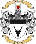 Allcorn Family Crest from England