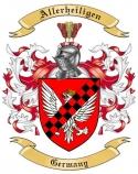 Allerheiligen Family Coat of Arms from Germany