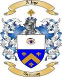 Alleye Family Crest from Germany