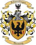 Allmendingen Family Crest from Germany
