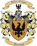 Allmendinger Family Coat of Arms from Germany