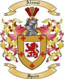 Alonzi Family Crest from Spain