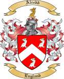 Alredd Family Coat of Arms from England