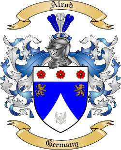 Alrod Family Coat of Arms from Germany