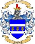 Alse Family Crest from England