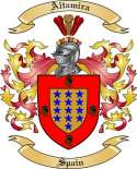 Altamira Family Coat of Arms from Spain2