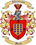 Altamirano Family Coat of Arms from Spain2