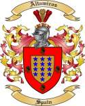 Altamiros Family Crest from Spain2