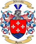 Alvarado Family Crest from Spain2