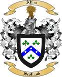 Alves Family Crest from Scotland