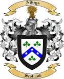 Alveys Family Crest from Scotland