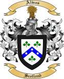 Alwas Family Crest from Scotland