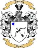 Amador Family Coat of Arms from Spain