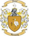 Amal Family Crest from Germany