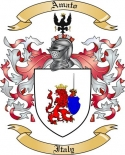 Amato Family Crest from Italy
