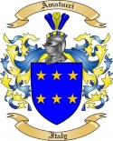 Amatucci Family Crest from Italy2