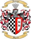 Amaya Family Crest from Spain