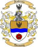 Ambrose Family Crest from Germany