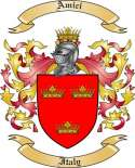 Amici Family Crest from Italy