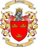 Amicone Family Crest from Italy
