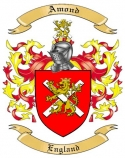 Amond Family Coat of Arms from England