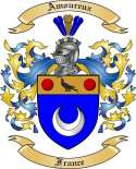 Amoureux Family Crest from France