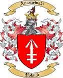Anaszewski Family Crest from Poland