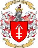 Anaszkiewicz Family Coat of Arms from Poland