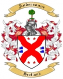Andersonne Family Crest from Scotland