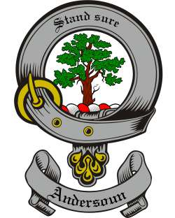 Andersoun Family Crest from Scotland2