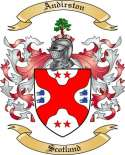 Andirston Family Crest from Scotland