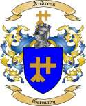 Andreas Family Crest from Germany