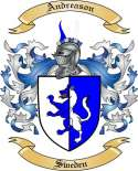 Andreason Family Crest from Sweden