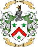 Andrew Family Crest from England