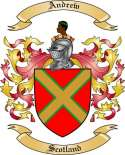 Andrew Family Crest from Scotland2