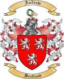 Andrew Family Crest from Scotland