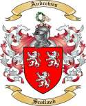 Andrewes Family Crest from Scotland
