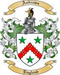 Andrews Family Crest from England