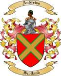 Andrews Family Crest from Scotland2
