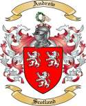 Androw Family Crest from Scotland