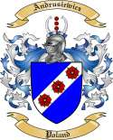 Andrusiewicz Family Crest from Poland