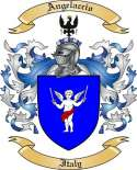 Angelaccio Family Crest from Italy