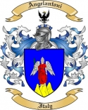 Angelantoni Family Crest from Italy