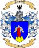 Angeletti Family Coat of Arms from Italy