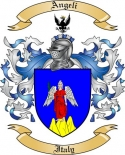 Angeli Family Crest from Italy