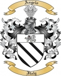 Angelo Family Crest from Italy2