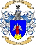 Angelucci Family Crest from Italy
