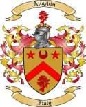 Angevin Family Crest from Italy