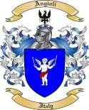 Angioli Family Crest from Italy3